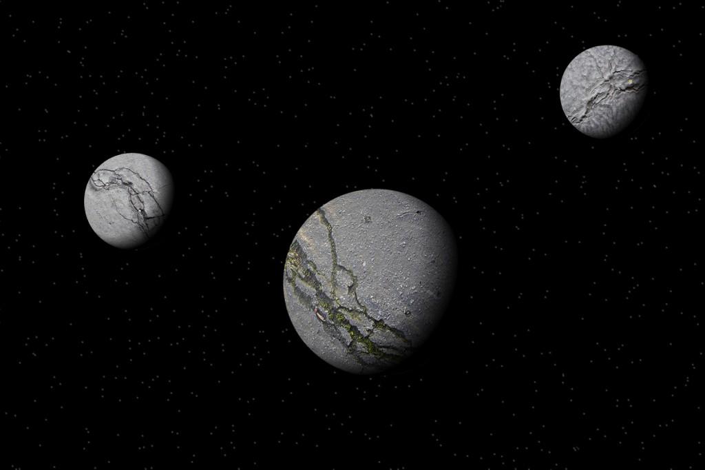 3 planètes
